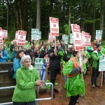 Evergreen Strike Rally #1